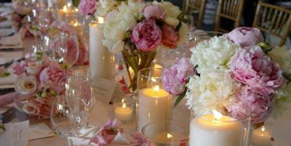 Addobbi floreali del matrimonio casa sposa chiesa e for Decorazioni tavoli matrimonio
