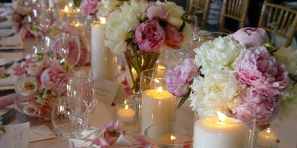 Addobbi floreali del matrimonio casa sposa chiesa e for Addobbi tavoli matrimonio con candele