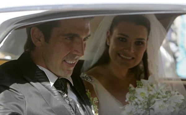 Matrimonio Buffon e Seredova